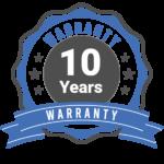 10 Years Warranty in Mattress